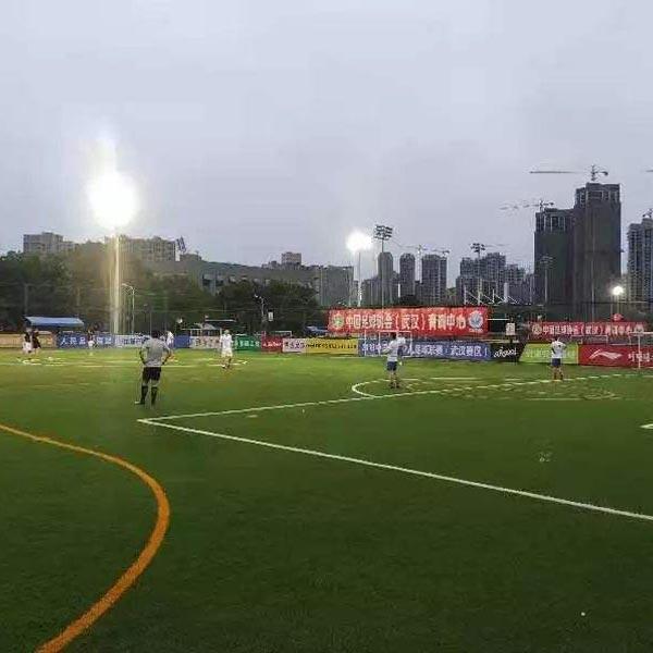 武汉江岸区汉口江滩足球场